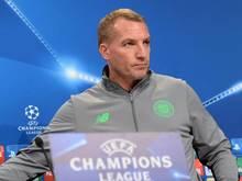 Sieht sein Team gegen den FCBayern nicht chancenlos: Celitic-Coach Brendan Rodgers