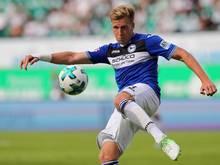 Fehlt Arminia Bielefeld für zwei Spiele: Mittelfeldspieler Brian Behrendt.