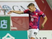 Lukas Podolski konnte nicht zufrieden sein
