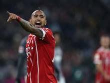 Traf gegen Augsburg: Arturo Vidal