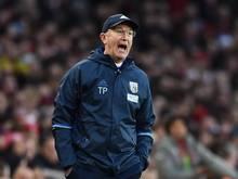 Trainer Tony Pulis und West Bromwich Albion gehen getrennte Wege