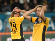 Kaum zu fassen: Dynamo Dresden vergab binnen drei Minuten den Sieg gegen Kaiserslautern