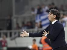 Kroatiens Trainer Zlatko Dalić hat seinen Vertrag verlängert