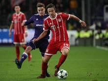 Marco Friedl durfte in der Champions League gegen den RSC Anderlecht ran
