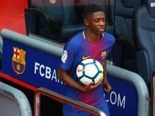 Hat nach seiner Verletzung das Mannschaftstraining beim FC Barcelona wieder aufgenommen: Ousmane Dembélé