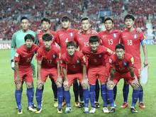 Südkorea ging als Sieger vom Platz
