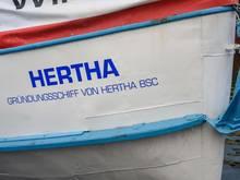 Das Ausflugsschiff mit dem Namen Hertha kehrte nach Berlin zurück