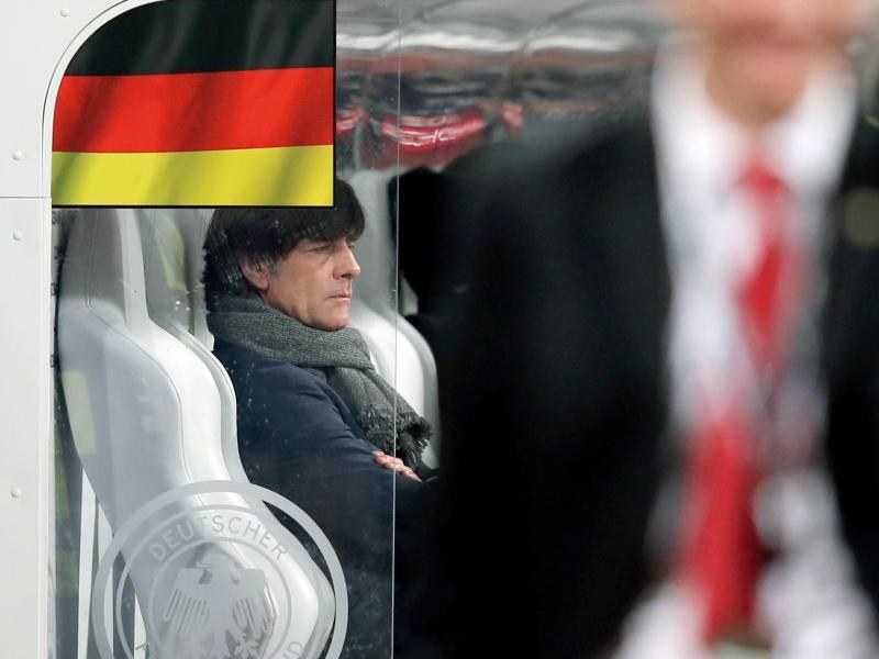 Bundestrainer Joachim Löw war von dem Spiel seiner Mannschaft sehr enttäuscht. Foto: Daniel Karmann
