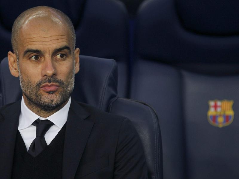 Für Bayern-Coach Pep Guardiola gab es in Barcelona nichts zu gewinnen