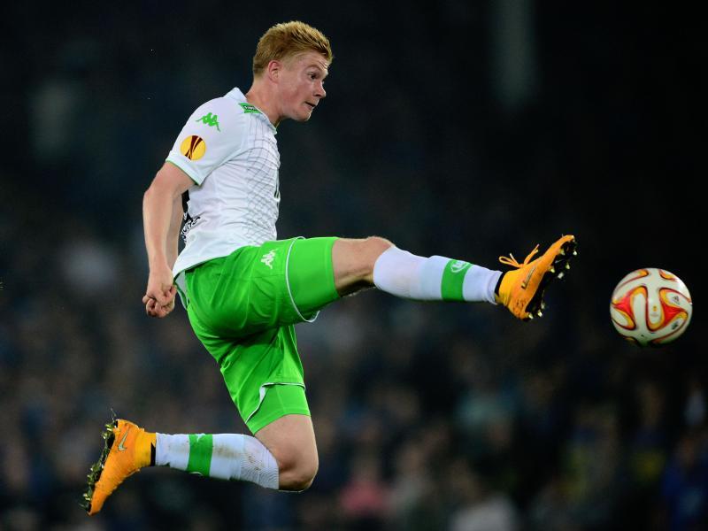 Der Belgier Kevin De Bruyne ist der Star beim VfL Wolfsburg. Foto: Peter Steffen