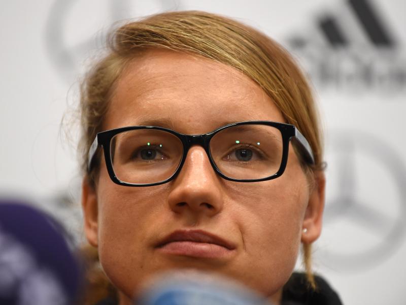 Babett Peter passt wegen Adduktorenproblemen für zwei Länderspiele