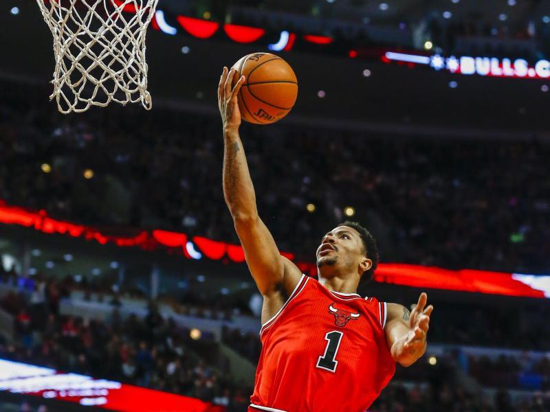 Derrick Rose von den Chicago Bulls hat sich erneut schwer verletzt