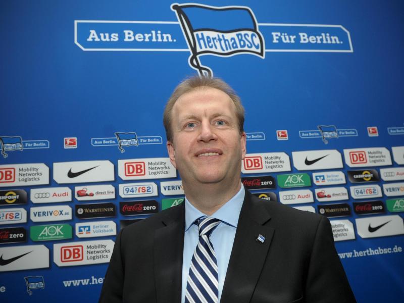 Herthas Finanz-Geschäftsführer Ingo Schiller ist zufrieden mit der finanziellen Entwicklung