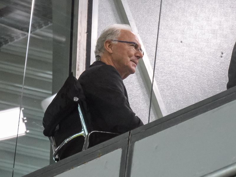 Ihm könnte Ärger vom DFB drohen: Franz Beckenbauer