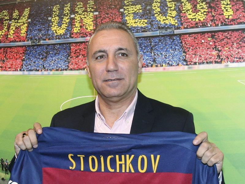 Hristo Stoitschkow ist Bulgariens bekanntester Fußballer