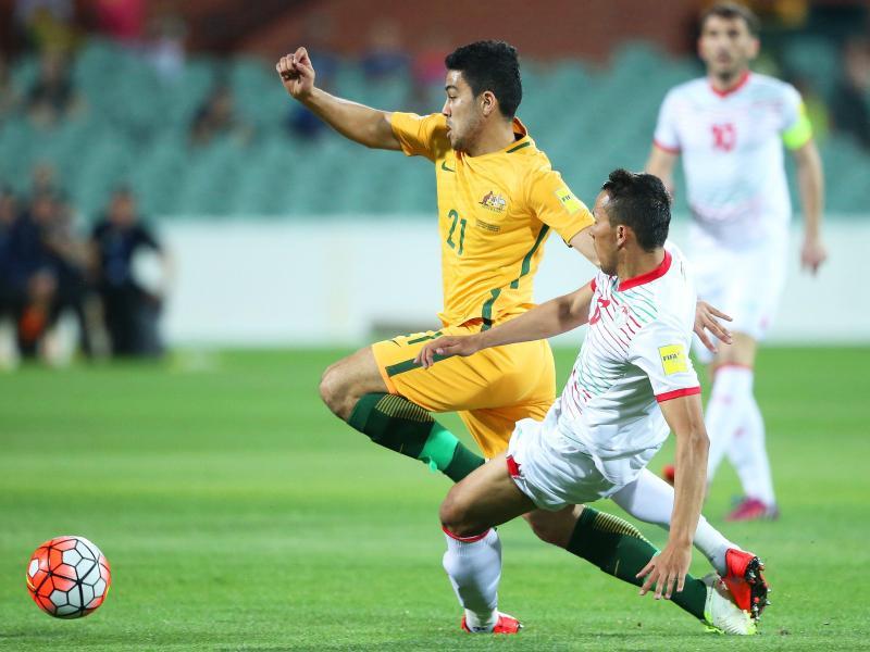 Australien besiegte Tadschikistan mit 7:0.