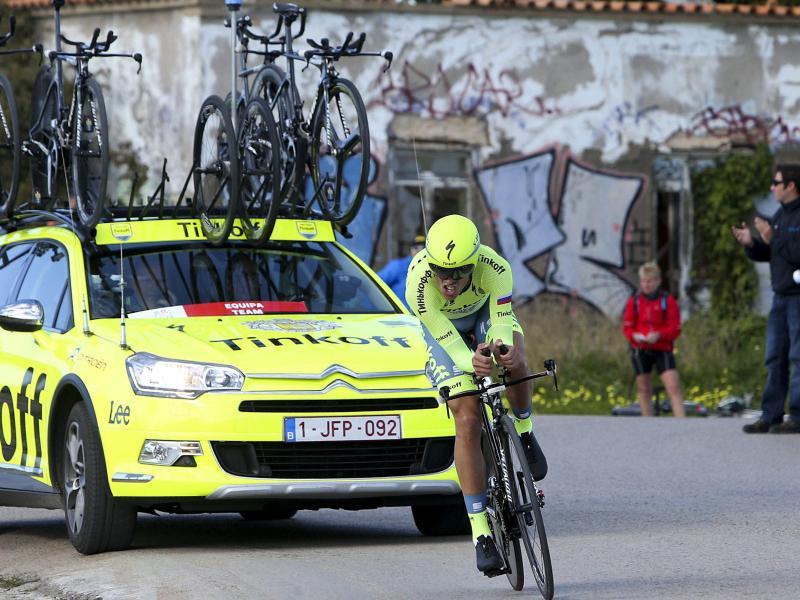 Alberto Contador gewann das Zeitfahren und die Rundfahrt
