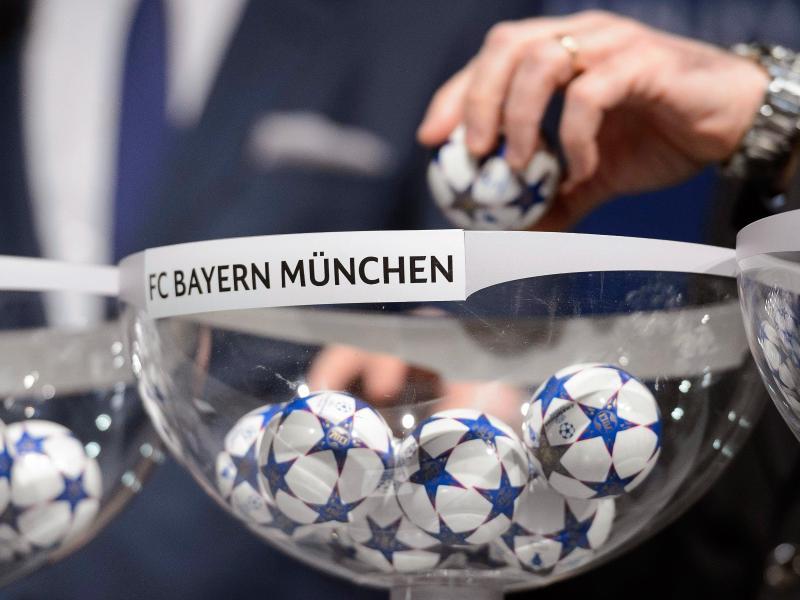Der FCBayern ist als deutscher Meister automatisch in Topf eins gesetzt