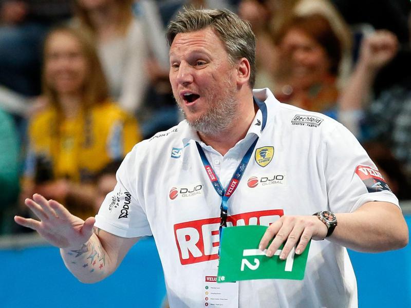 Für Löwen-Trainer Nikolaj Jacobsen ist der THW Kiel Topfavorit auf den Titel