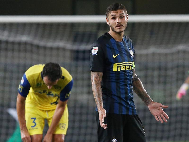 Inter verliert mit Mauro Icardi