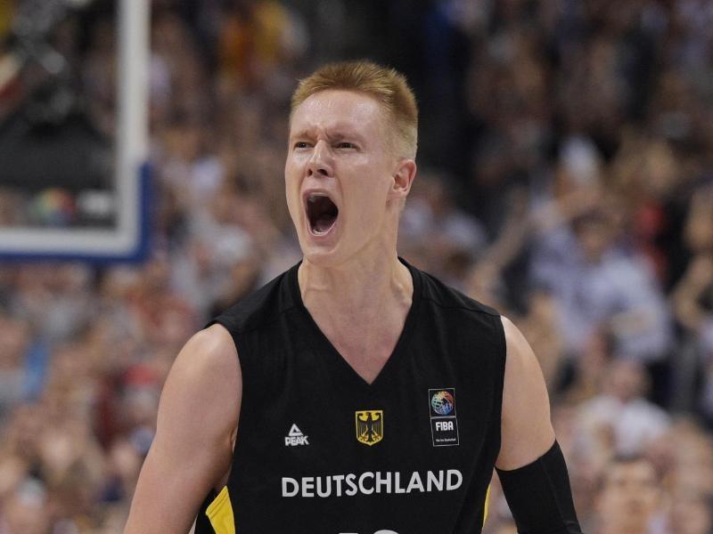 Robin Benzing holte gegen Portugal 15 Zähler für das deutsche Team.