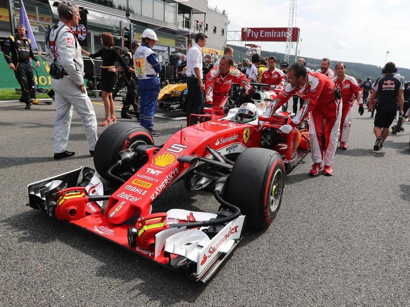 Sebastian Vettel glaubt an ein gutesErgebnis in Monza