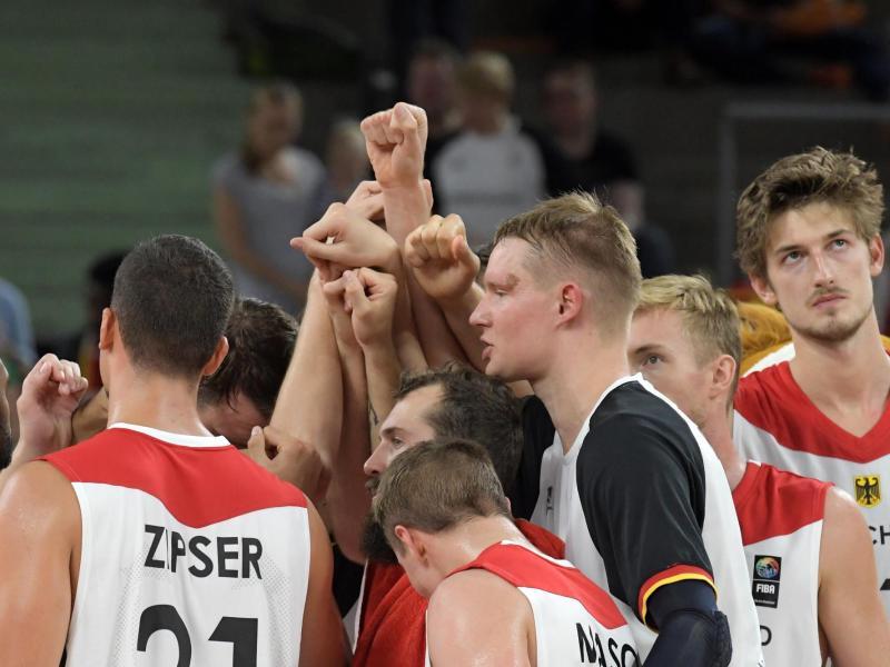 Die deutschen Basketballer starten gegen Dänemark in die EM-Quali