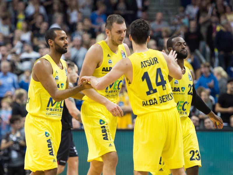 ALBA Berlin hat das erste Heimspiel der Saison gewonnen