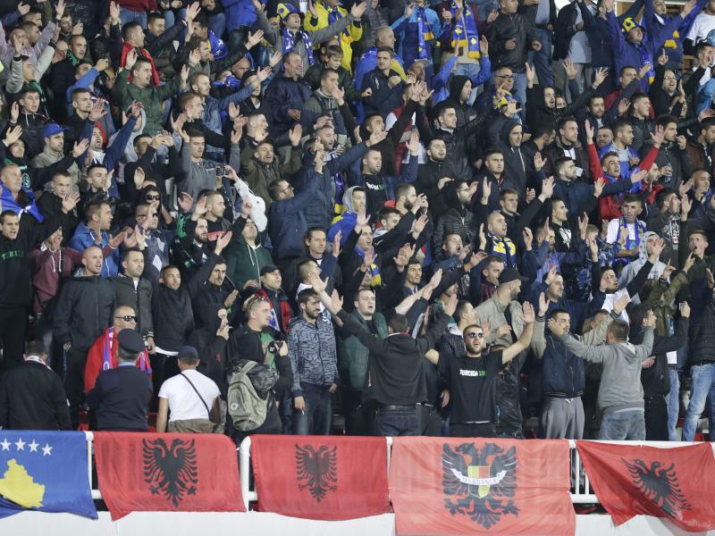 Kosovo und Kroatien sind ins Visier der FIFA geraten