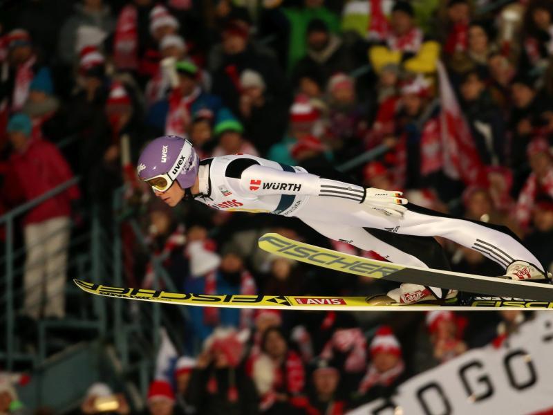Andreas Wellinger wurde Zweiter in Zakopane
