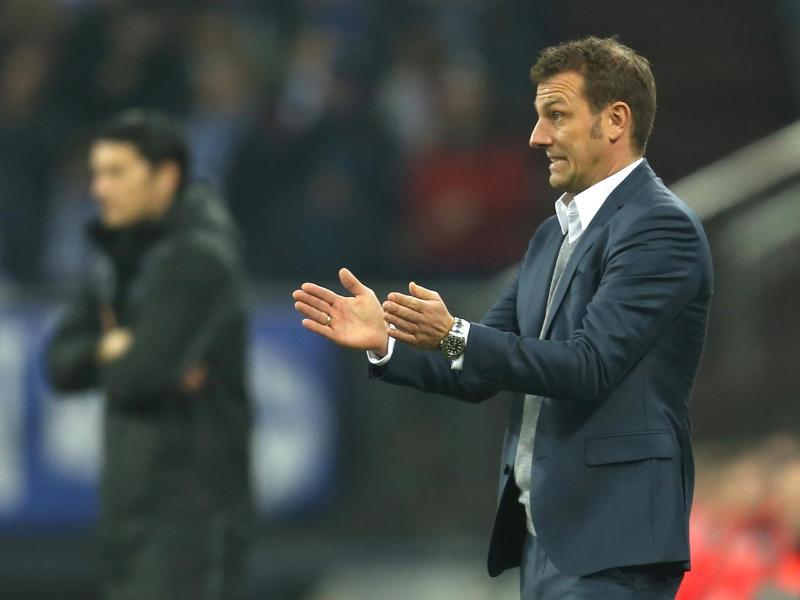 Markus Weinzierl erwartet ein intensives Spiel gegen Hoffenheim
