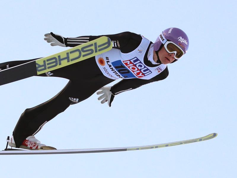 Markus Eisenbichler dominierte die Qualifikation in Lillehammer
