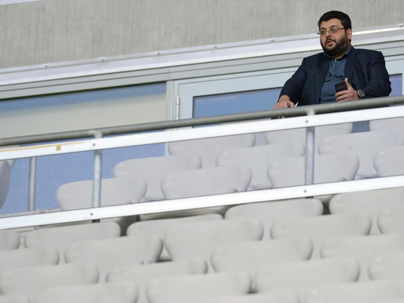 Hasan Ismaik muss sich wohl noch eine Weile mit einem Platz in der Allianz Arena begnügen.