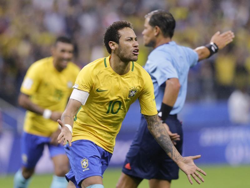 Neymar und Co können schon ihr Quartier in Russland aussuchen