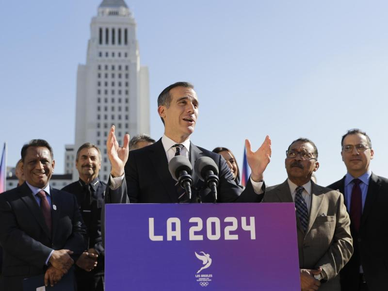 Olympische Spiele 2024 : Pariser Olympia-Bewerbungskomitee setzt auf Macron