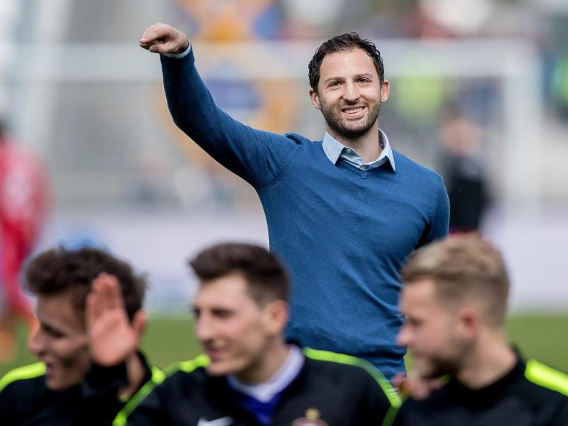 Domenico Tedesco bleibt Trainer des FC Erzgebirge Aue