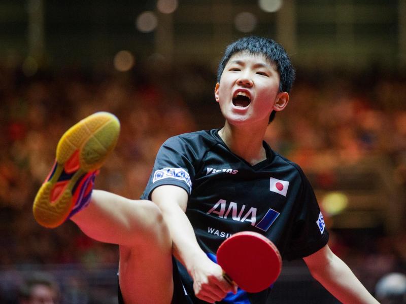 13-jähriger Harimoto im Tischtennis-WM-Achtelfinale