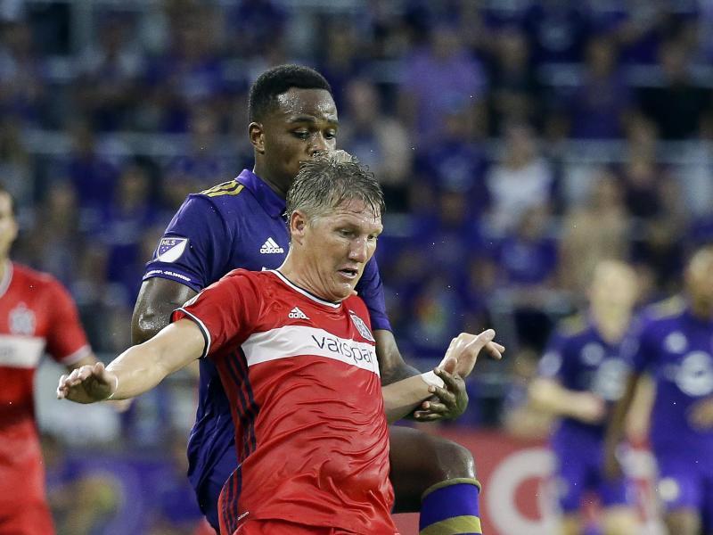 0:0 gegen Orlando City: Schweinsteiger verpasst mit Chicago trotz Überzahl den