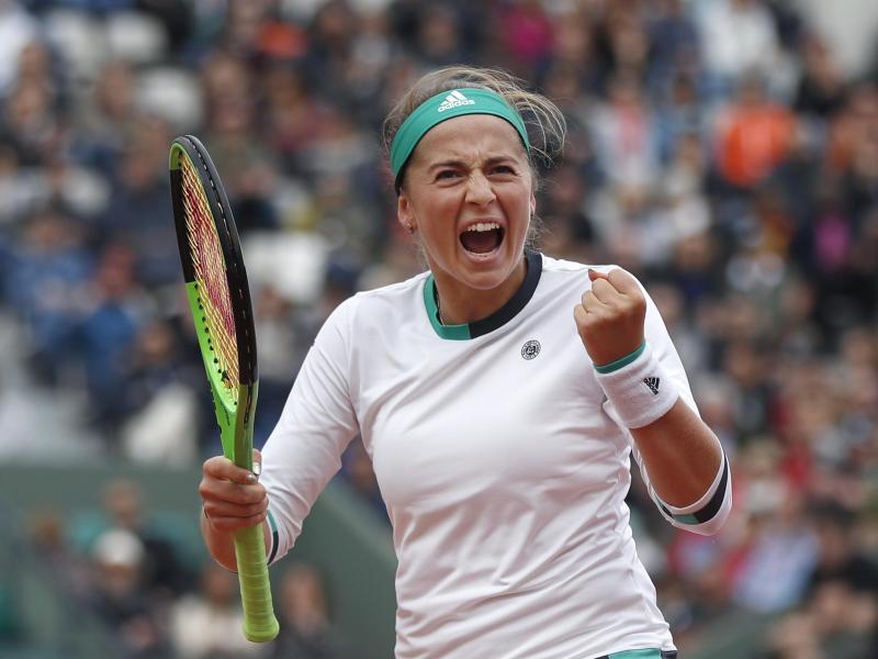 Ostapenko holte in Paris gegen Halep ersten Grand-Slam-Titel