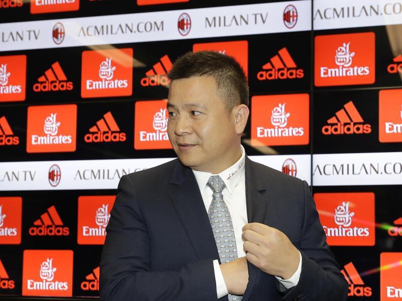 Yonghong Li will den AC Mailand wieder nach vorn bringen