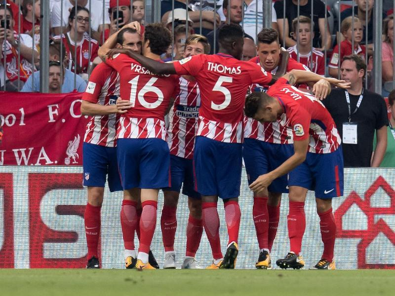 Atlético schlägt Napoli bei Test-Cup in München