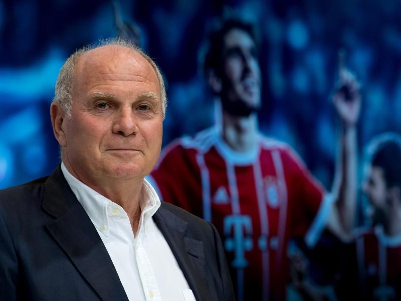 Steht dem Videobeweis weiter kritisch gegenüber: Bayern-Präsident Uli Hoeneß