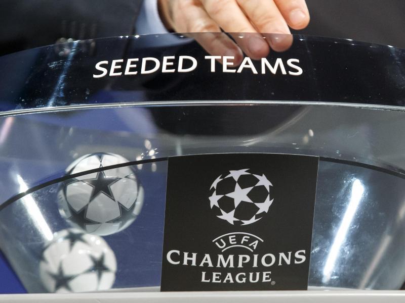 Spannung vor der Ziehung der Champions-League-Gruppen