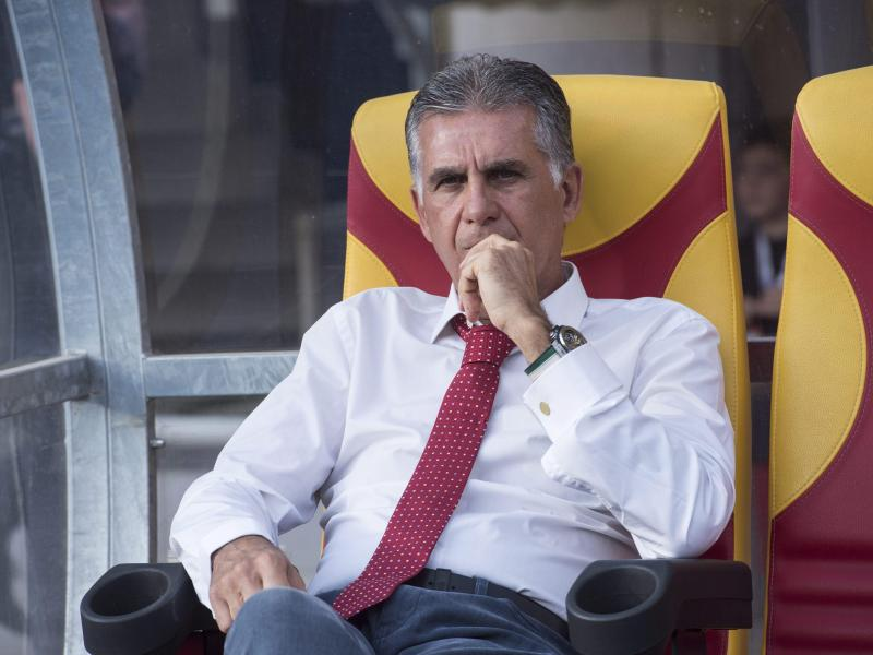 Carlos Queiroz trainiert die iranische Nationalmannschaft