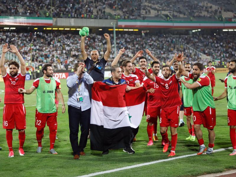 Syriens Nationalmannschaft träumt von der WM-Teilnahme