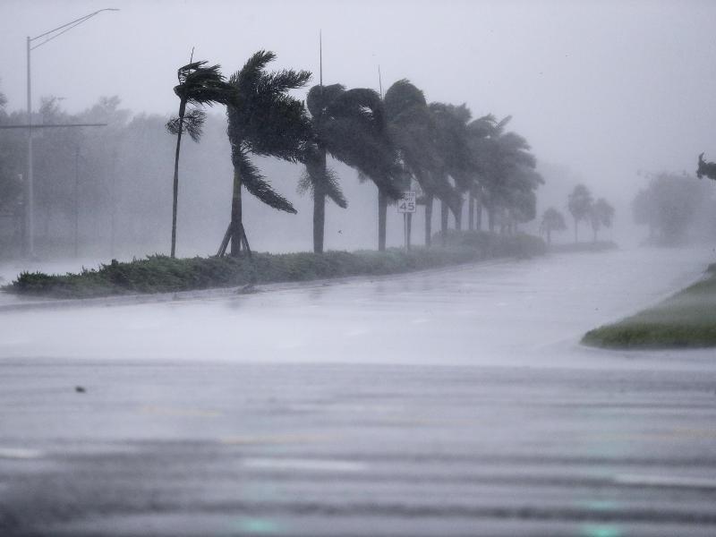 Der Hurrikan Irma fegte über Florida hinweg