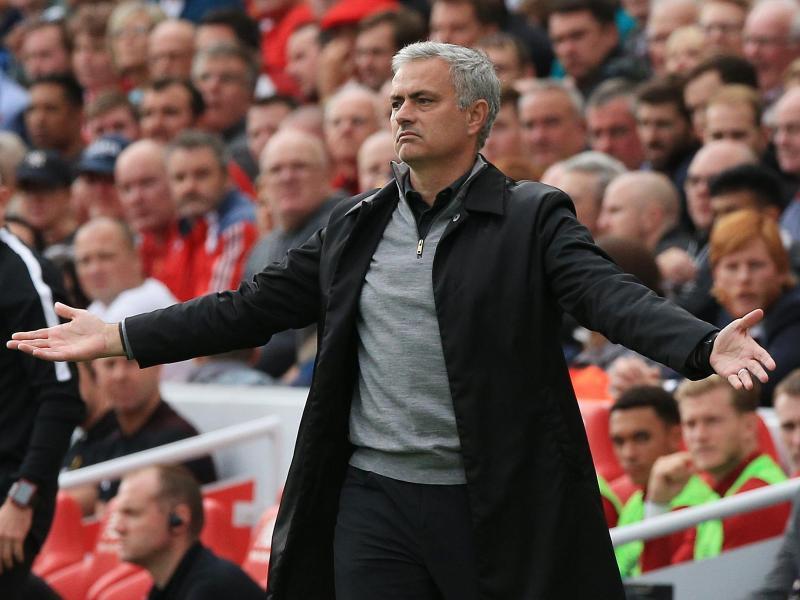 Immer in Bewegung: José Mourinho