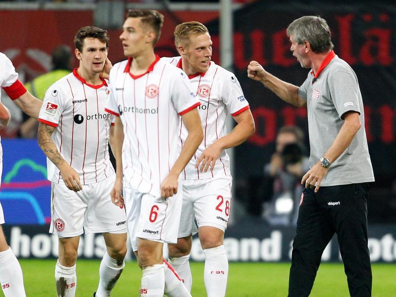 Trainer Friedhelm Funkel will mit Fortuna Düsseldorf die Erfolgsserie fortsetzen