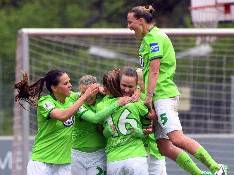 Die Wolfsburgerinnen haben das Viertelfinale der Champions League erreicht