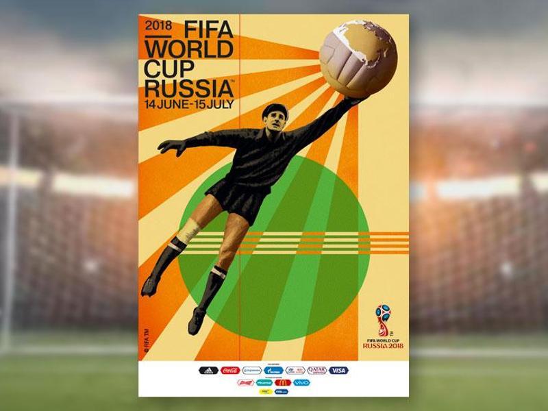 Tormannlegende Jaschin ziert offizielles WM-Plakat